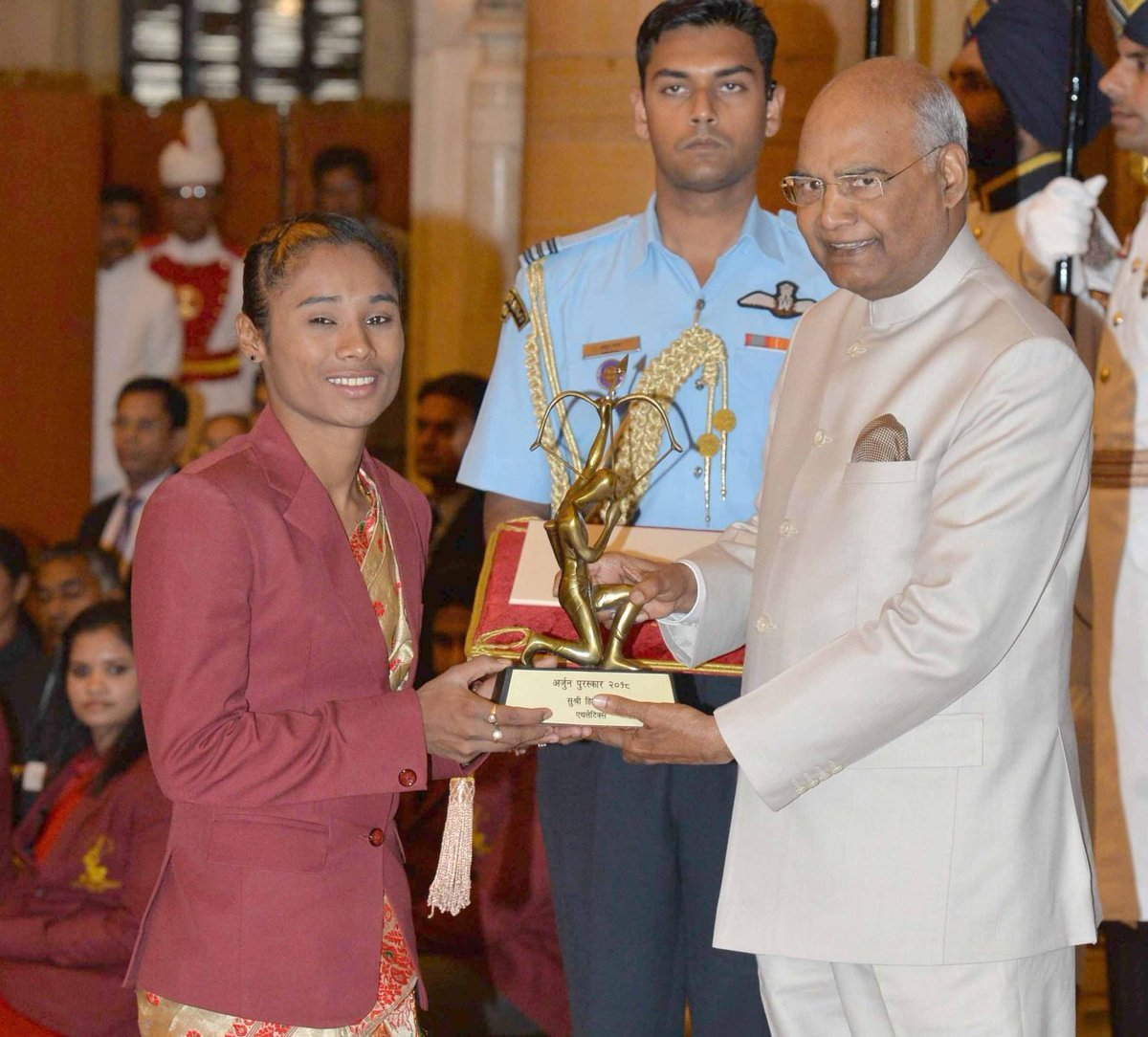 Arjuna Awardees- Athletics – Athletics Federation of India